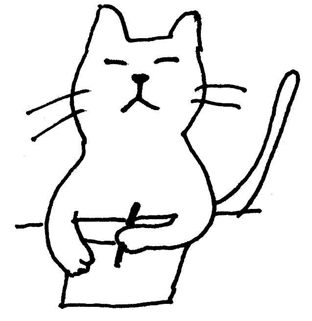 ふらんす堂の猫