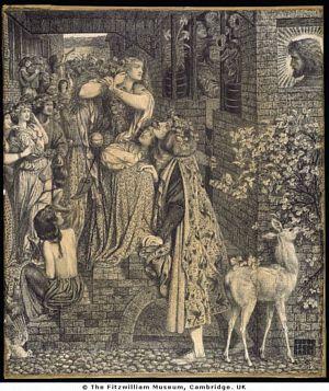 Mary Magdalane by Dante Gabriel Rossetti